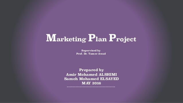 Mba Marketing Project Pdf