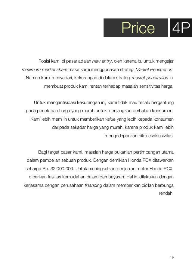 Marketing Plan for Honda PCX
