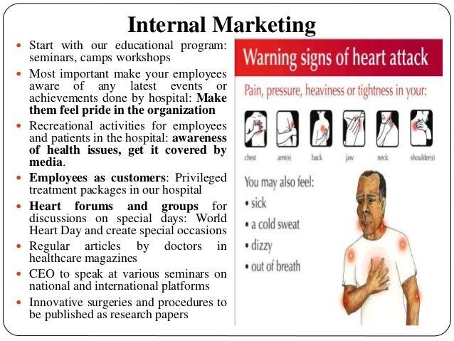 Marketing Plan for 150 Bedded Cardiac Hospital