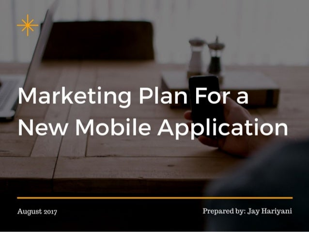 Marketing plan for a new android app