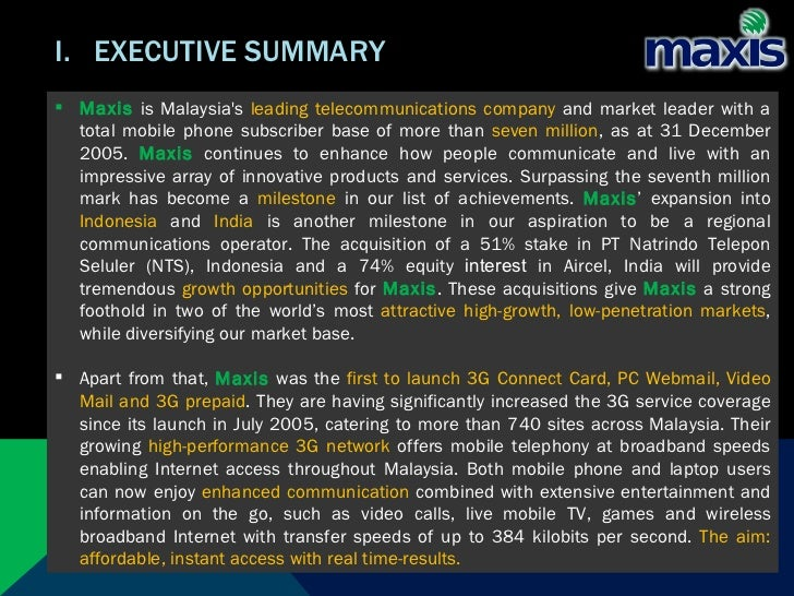 maxis marketing plan Full assignment paper: marketing experience of maxis  table 1 price plan of maxis broadband on mobile  h, kotler, p & lee, n 2011, social marketing for.