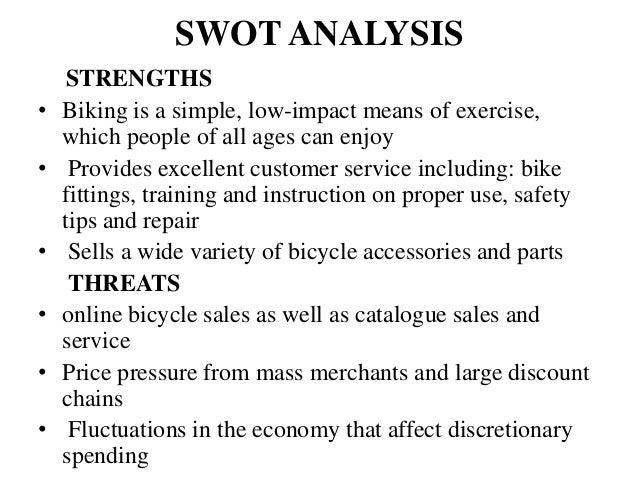 swot analysis of brompton bicycles Brompton bicycles is a uk bike making entity that aims at growing its market share in the continually expanding global market its distinct folding bicycle model is one of its valuable asset that makes it a premium brand.