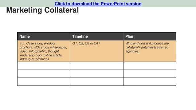Case Study Marketing Plan Pdf