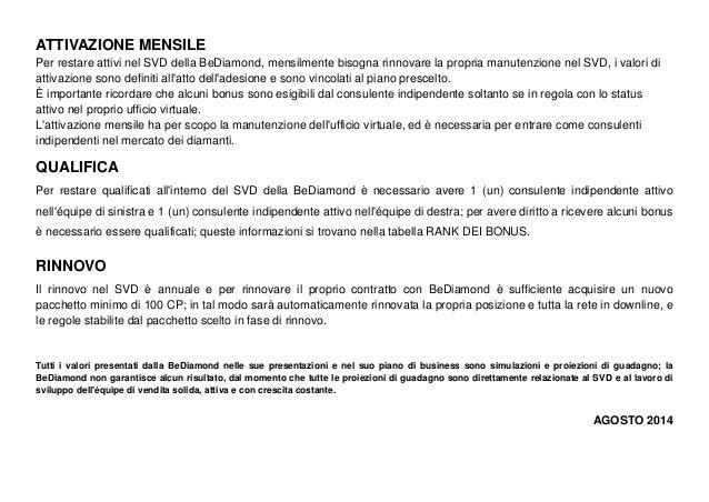 BeDiamond Piano Marketing Italiano