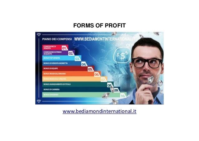 Bonus di Vendita Diretta Diventando conuslente indipendente BeDiamond, comprerete prodotti e servizi resi disponibili nel ...
