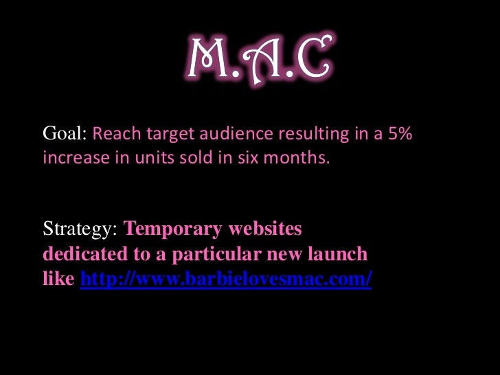 marketing plan for a cosmetic company Cosmetics marketing strategy by ruth make the most of your marketing strategy efforts by further defining your product through packaging, branding and product positioning always include your logo on package designs and, if the package warrants it, company information such as your website or phone number.