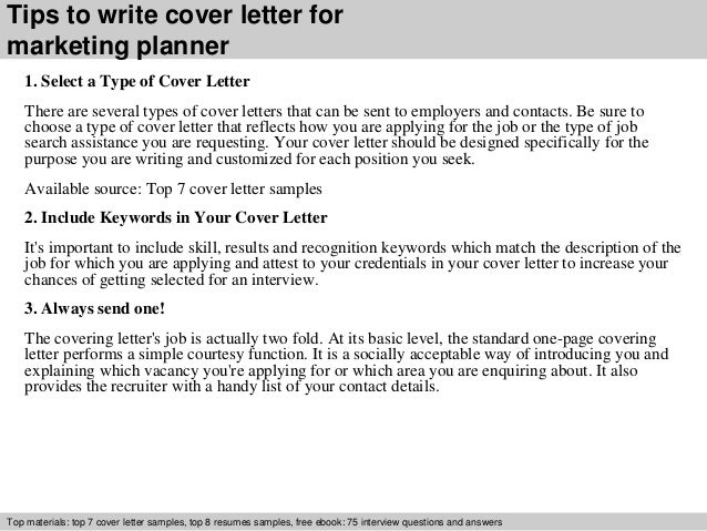 3 tips to write cover letter - When To Send A Cover Letter