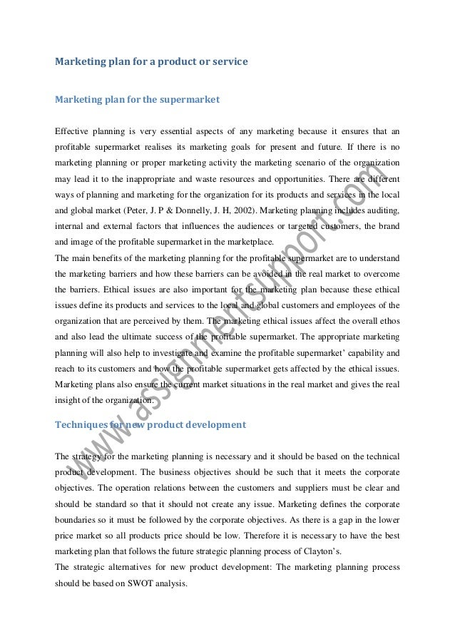 marketing planning essay sample from assignmentsupport com essay writ  marketing plan