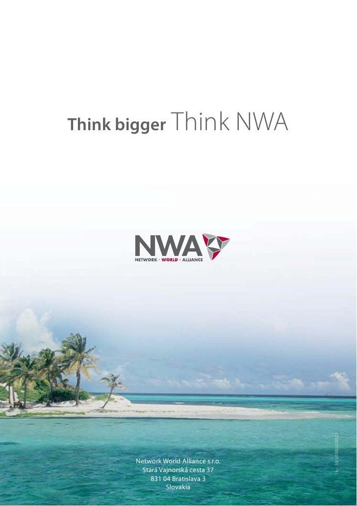 Think bigger Think                     NWA                                             Sk – 10/10 000270523       Network ...