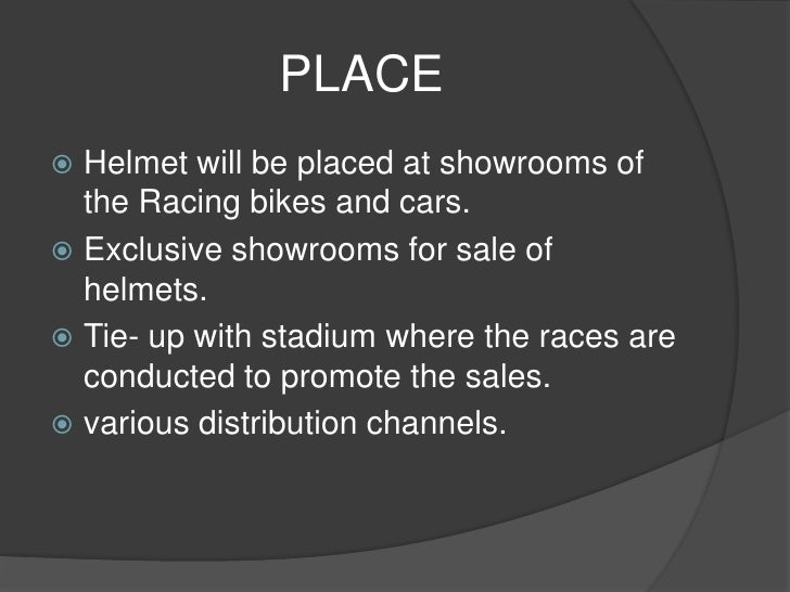 helmet marketing plan View jia-ying lin's profile on linkedin,  - assisted in implementing social marketing plan and design  black helmet apparel university of miami.