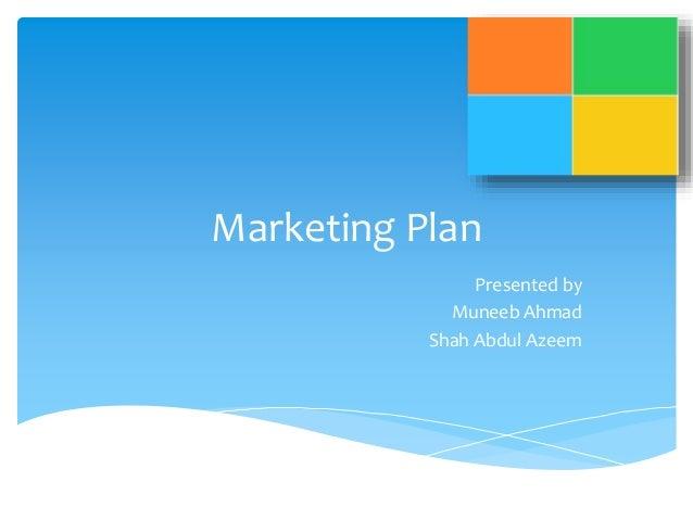 Marketing plan of microsoft Slide 2