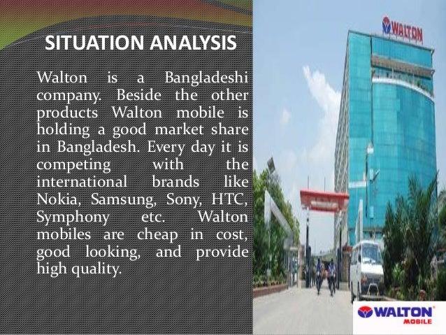 Marketing plan of walton mobile