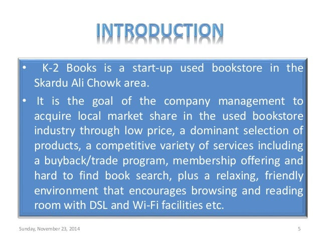 Old Book Store In Skardu - Bookstore business plan template