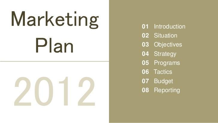 marketing plan presentation pdf