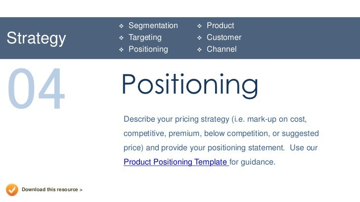segmentation targeting positioning of videocon Segmentation, targeting, positioning • segmentation: grouping consumers by some criteria • targeting: choosing which group(s) to sell to • positioning: select.