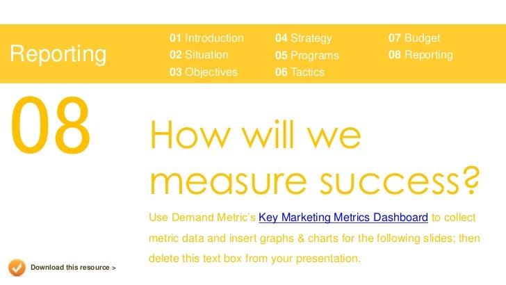marketing plan presentation template, Presentation templates