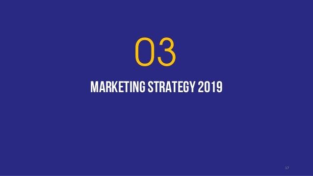 MARKETING strategy 2019 03 17