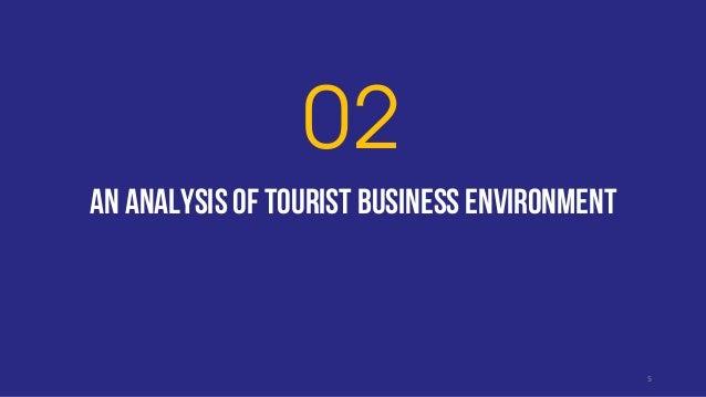 An analysis of tourist business environment 02 5