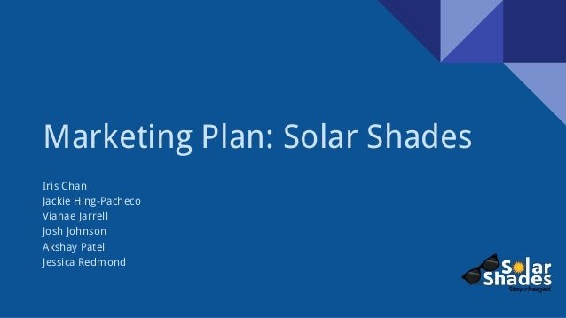 A Sample Solar Panel Installation Business Plan Template