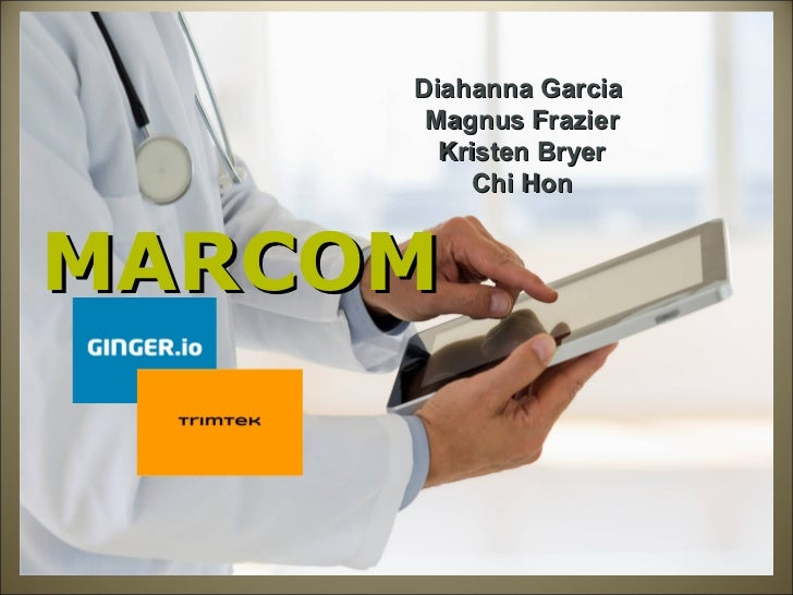 Diahanna Garcia      Magnus Frazier       Kristen Bryer         Chi HonMARCOM