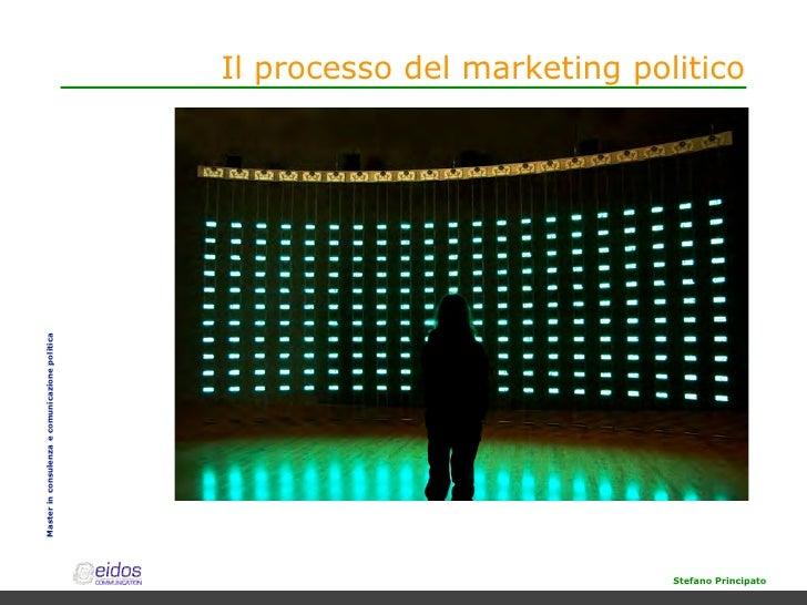 Il processo del marketing politico Master in consulenza e comunicazione politica                                          ...