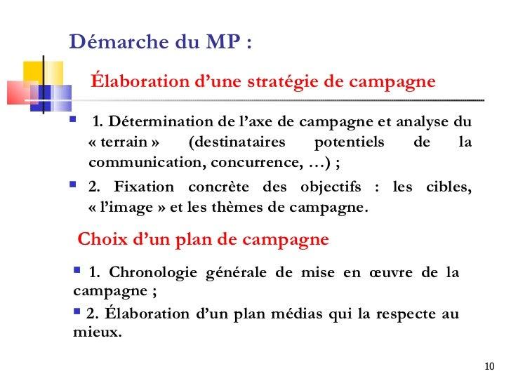 Marketing politique - Pimkie plan de campagne ...