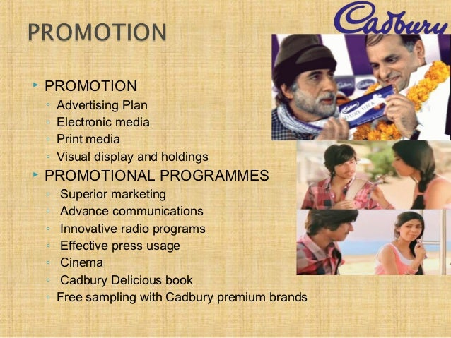 cadburys promotional strategies Cadbury world 'gift shop' strategy needed to be aligned to serious and real business concerns relating to the threat to some serious and well-established commercial relationships.