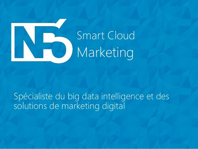 Marketing Smart Cloud Marketing Smart Cloud Spécialiste du big data intelligence et des solutions de marketing digital