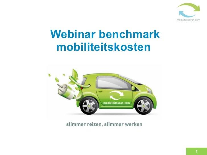 Webinar benchmark mobiliteitskosten