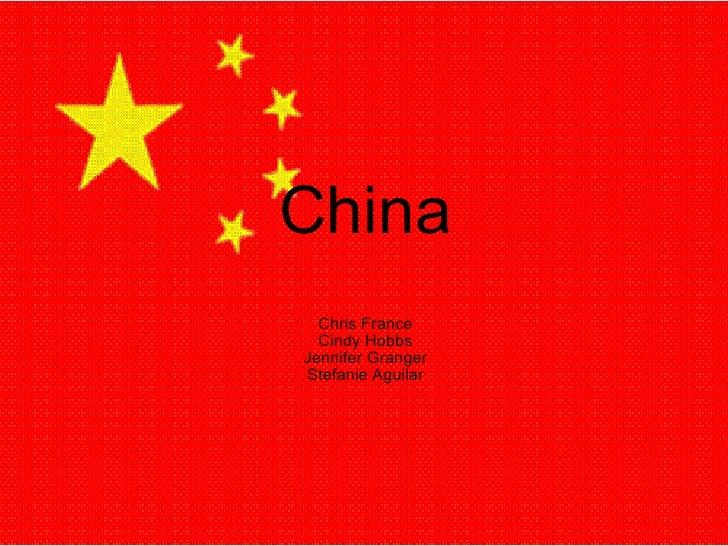 China Chris France Cindy Hobbs Jennifer Granger Stefanie Aguilar