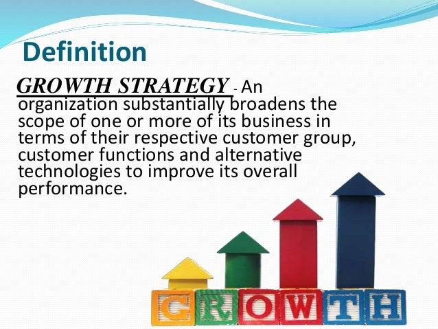 Four Product/ Market Expansion Grid Stretegies