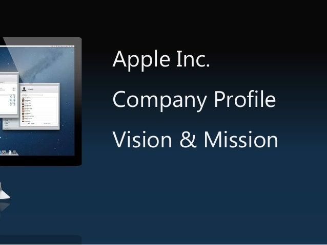Apple Inc. Current Profile Name Apple Incorporation Former CEO Steve Job New CEO Tim Cook Revenue $ 178.119 billion Area s...