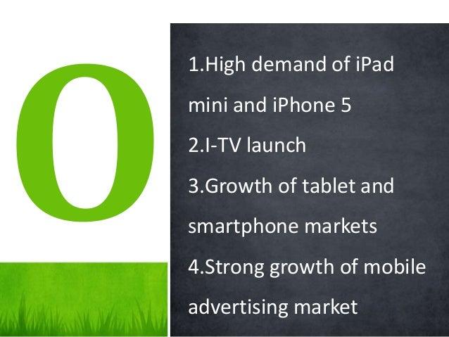 Marketing presentation for Apple inc.