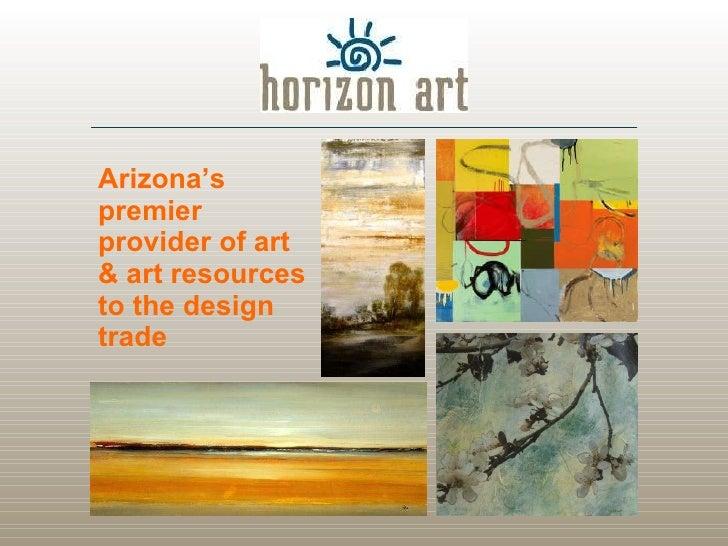 Arizona's premier provider of art & art resources to the design trade