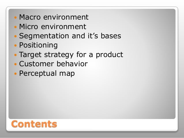 macro and micro environment of apple Task 1: macro and micro environmental factors: environment is large and complicated, which is a long story we will mention some details at the same way economics elements and marketing environment is one of those things which is influenced the way the enterprise works it is being realized that is.