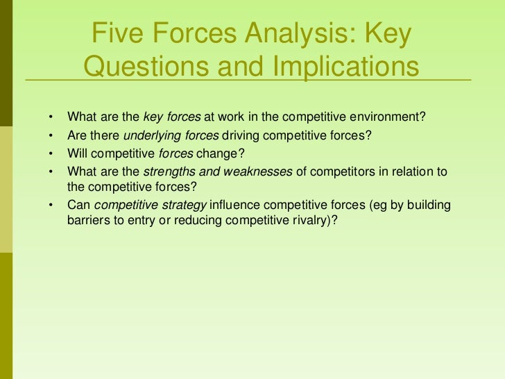 an in depth analysis of the five competitive factors in marketing If you want to do a competitive analysis to optimize your seo efforts, there's actually quite a lot you can do yourself, without having to hire an expensive seo.