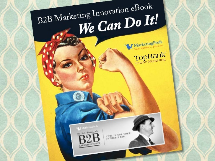 B2B Marketing Innovation eBook - MarketingProfs B2B Forum