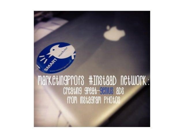MarketingProfs #instaAd Network