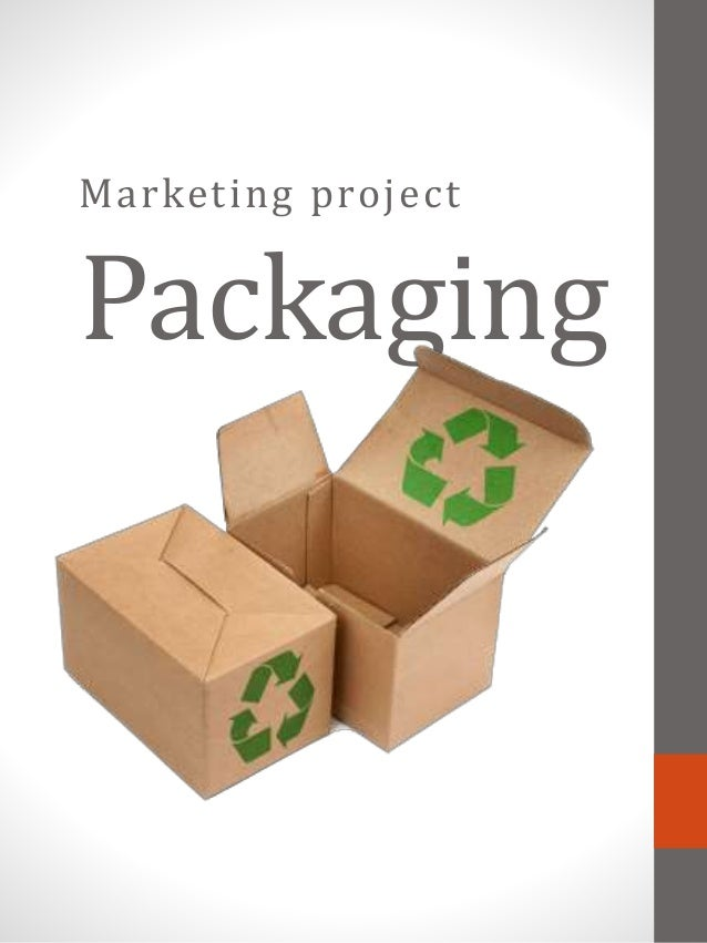 Marketing project Packaging