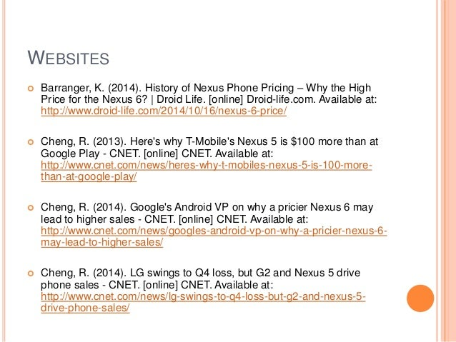 Google Nexus Pricing and Product Strategy