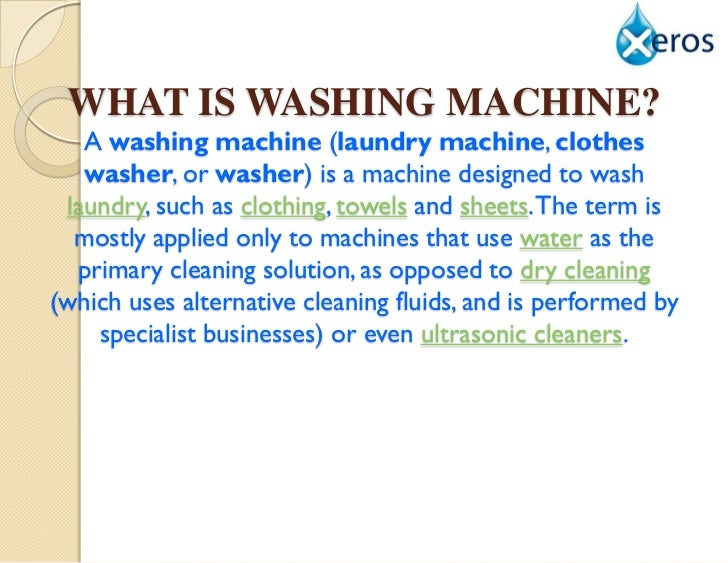 washing machine marketing strategy The market trends for the car washing industry has been a gravitation from hand washing to automatic washing machine  the marketing strategy will seek to .
