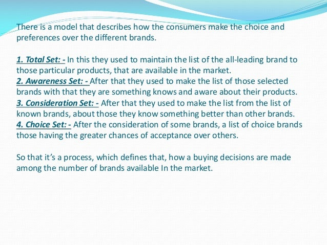 grand project on consumer buying behaviour Understanding consumers is central to the business of marketing strategy this class aims to move beyond the traditional focus upon the act of buying (buyer behaviour.