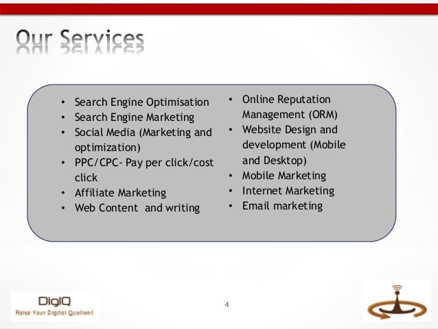 4 search engine optimisation search engine marketing social media