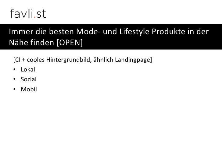 Immer die besten Mode- und Lifestyle Produkte in derNähe finden [OPEN] [CI + cooles Hintergrundbild, ähnlich Landingpage] ...