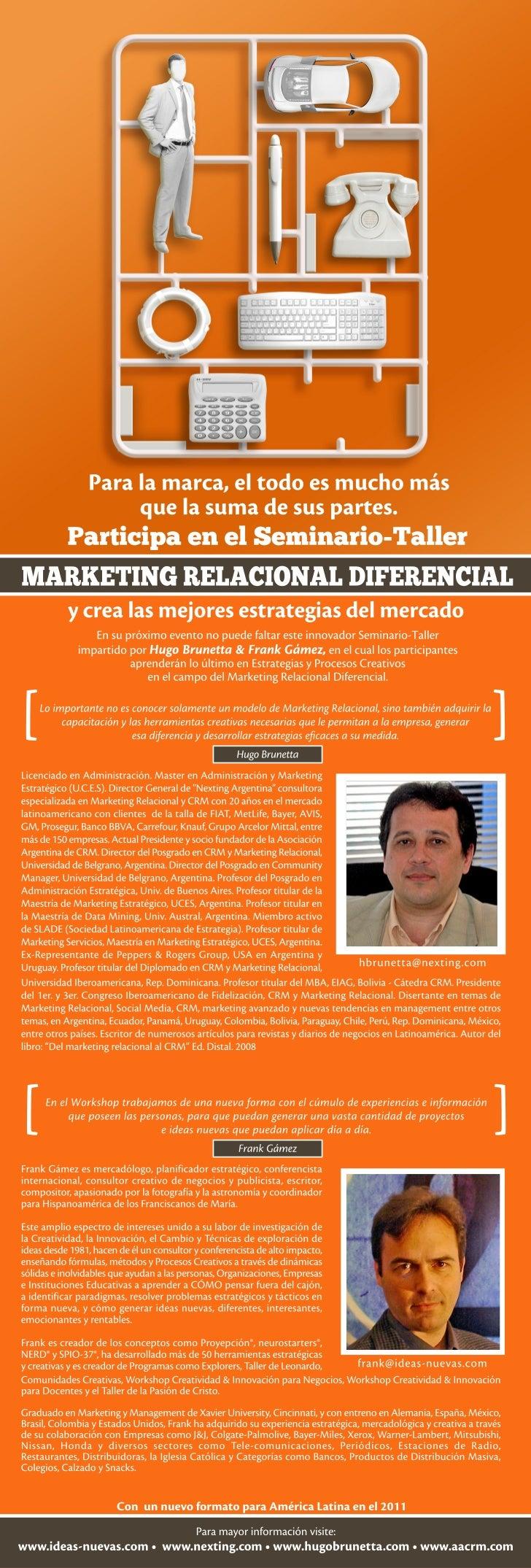 Marketing Relacional Diferencial