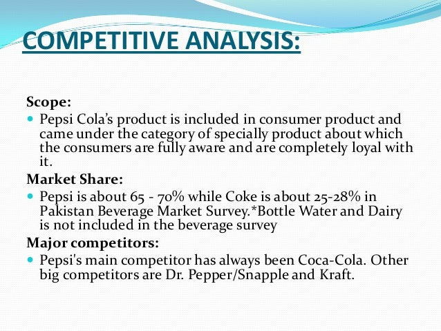 Who Is Pepsi-Cola's Target Market?