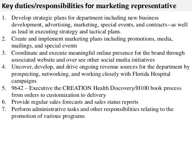 Business Development Job Description Product Marketing Job