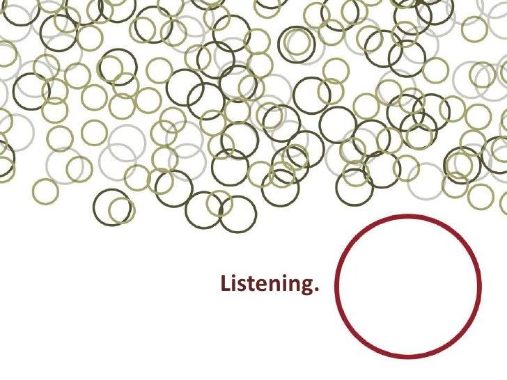 Listening.<br />