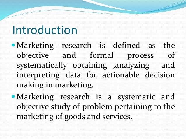 Marketing research Slide 2