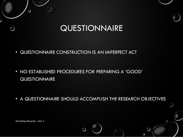 questionnaire f0rm design for marketing Looking to improve your questionnaires this article illustrates the very best and worst practices in questionnaire design to serve as inspiration.